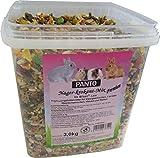 Panto Mangime per roditori, mix di roditori, 3 kg, confezione da 1 (1 x 3 kg)