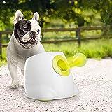 All for Paw Hyperfetch Ultimate lancio giocattolo interattivo automatico per cani, lancia palline da tennis per addestramento cani, 3 palline incluse (mini stile) con adattatore europeo