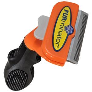 Un esempio di spazzola Furminator per cani